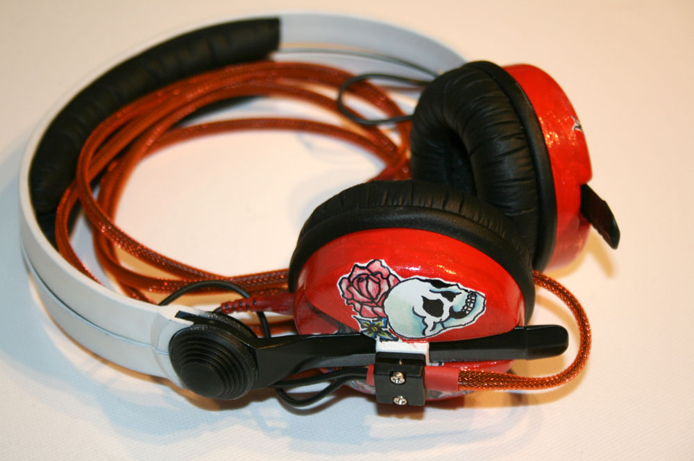 ed hardy headphones